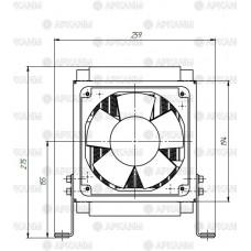 Маслоохладитель гидравлический МО-05