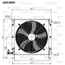 Маслоохладитель гидравлический МО2 КДМ